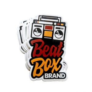Beat Box Brand Sticker