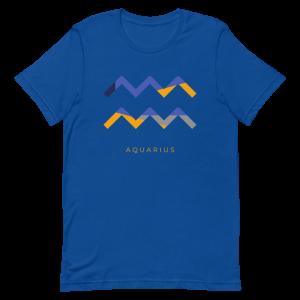 Aquarius Zodiac T-Shirt